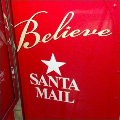 Believe in Santa Mail